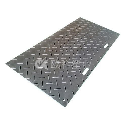 高分子聚乙烯大花纹防滑铺路板