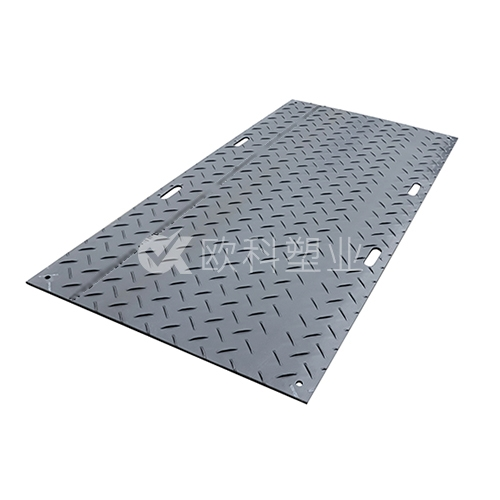 黑色高分子聚乙烯防滑铺路板